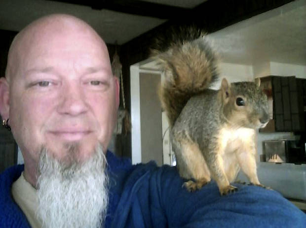 Pet squirrel that foiled Idaho home burglary returns to wild
