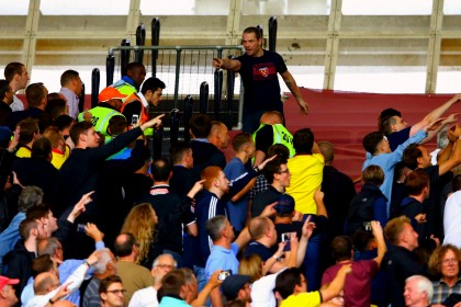 Olympic Stadium move turns sour for West Ham after fan violence