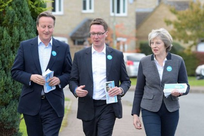 Tory majority slashed on David Cameron's old seat