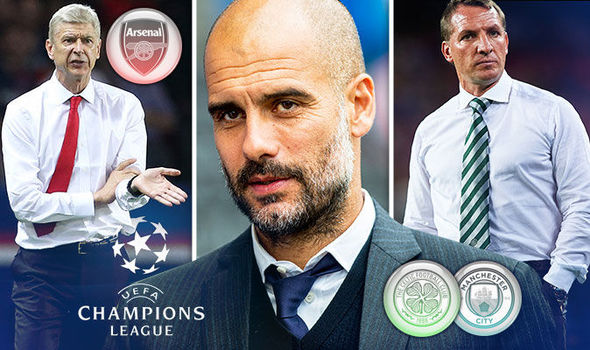 Champions League LIVE: All the build up ahead of Arsenal v Basle and Celtic v Man City