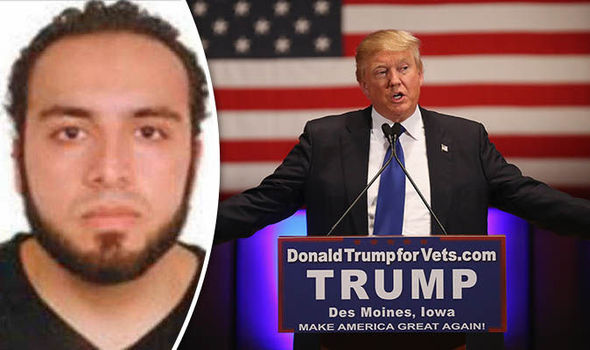 Trump's sadness at medical support given to injured bomb suspect