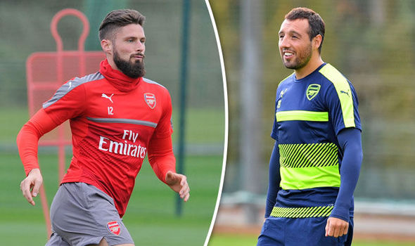 Arsene Wenger offers injury update on Cazorla and Giroud after Arsenal's draw with Boro