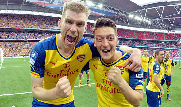 Arsenal star: This is what I think about Per Mertesacker and his injury