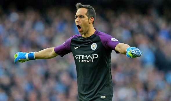 Man City goalkeeper Claudio Bravo: Pressure on Barcelona ahead of Champions League tie
