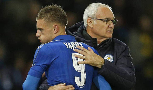 Leicester boss Ranieri backs Vardy to rediscover best form against Crystal Palace