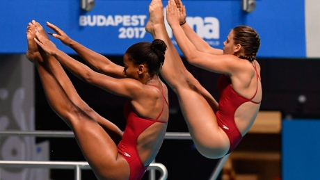 Canada's Abel, Citrini-Beaulieu take world diving silver