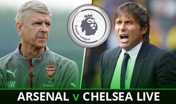 Arsenal v Chelsea: Follow all the action from the Emirates LIVE