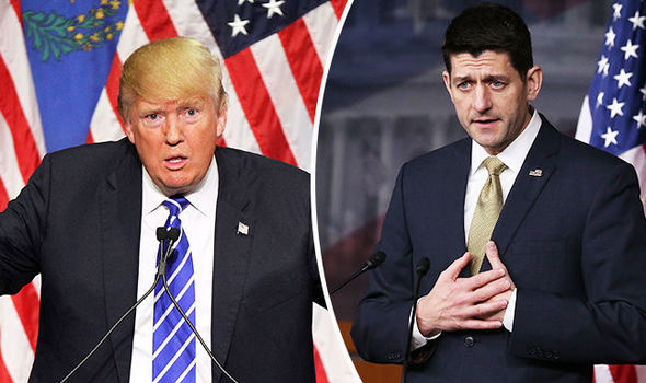 'The shackles are off' Trump lays into Republican Paul Ryan and slams his 'disloyal' party
