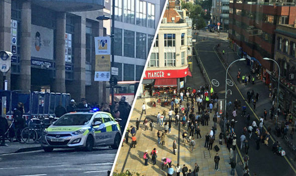 BREAKING: Hammersmith station evacuated as controlled explosion takes place