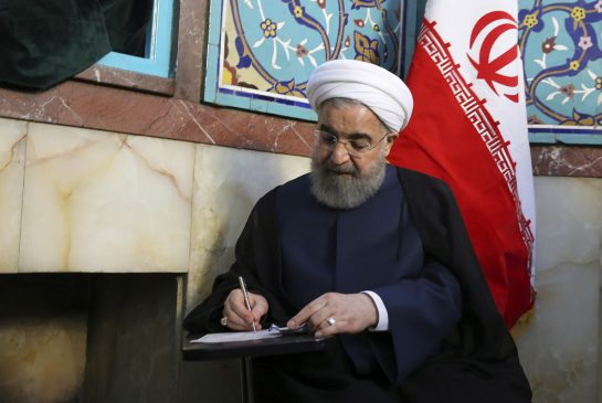 Iran's President Rouhani wins second term by wide margin