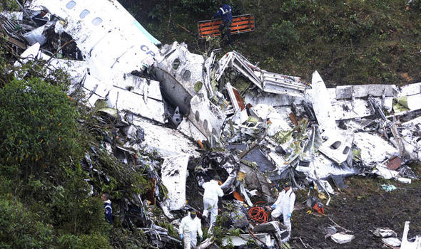 Colombia plane crash: Black box recorders being brought to UK for examination