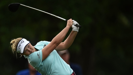 Brooke Henderson's 8-under gives her 1st-round lead at Meijer LPGA Classic