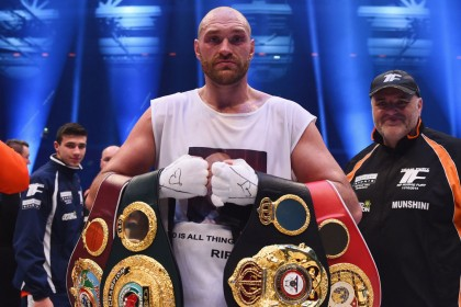 Tyson Fury says suicidal thoughts drove him to cocaine