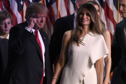 Melania Trump: How the former model lets her fashion do the talking
