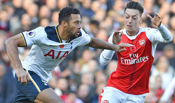 Arsenal's Mesut Ozil was bullied by Tottenham star, claims Danny Murphy