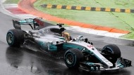 Formel 1: Hamilton holt Pole in Chaos-Qualifikation