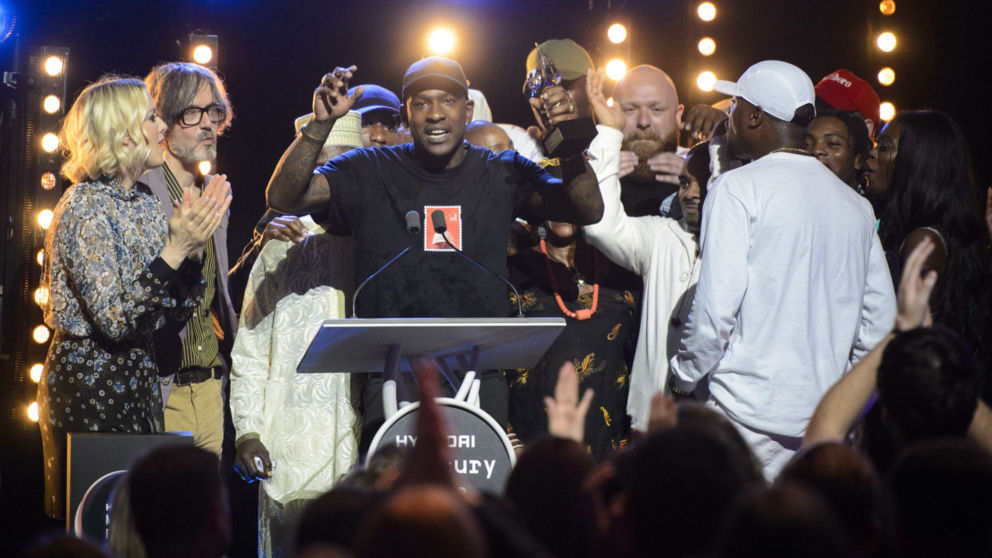 UK music scene congratulates Skepta on Mercury Prize win