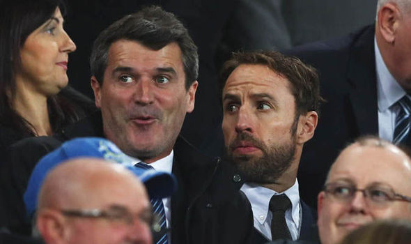 England boss Gareth Southgate watches Everton with Man Utd icon and Premier League manager
