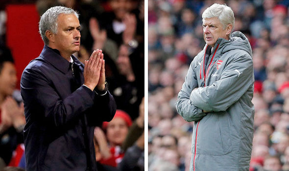 Why Man United against Arsenal represents more than just Mourinho and Wenger's rivalry
