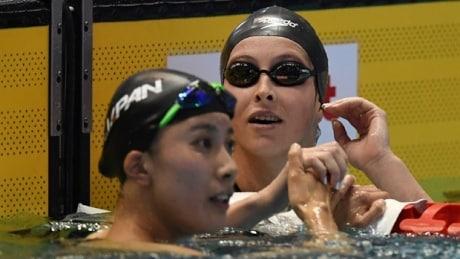 Sydney Pickrem lowers own Canadian record to win silver in 200m IM