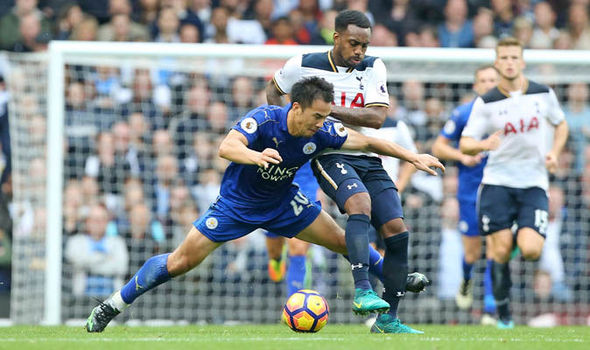 Tottenham 1 - Leicester 1: Ahmed Musa rescues point for Foxes as Spurs hit bar twice
