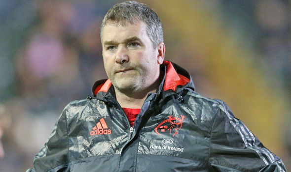 Munster postpone Champions Cup match after shock death of head coach Anthony Foley