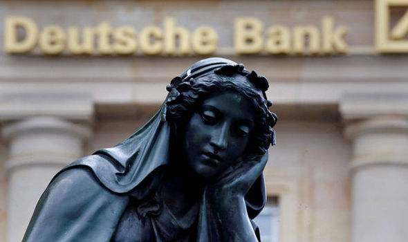 Will Germany bail out Deutsche Bank? Fears of collapse grow as shares dive