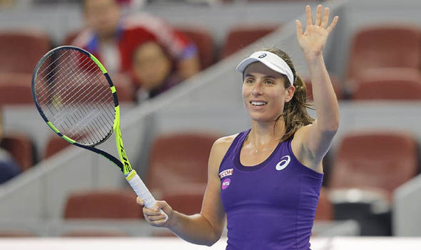 Johanna Konta cruises into China Open semi-final with 12-game winning run