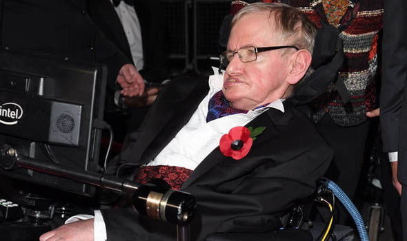 'It's not rocket science' Stephen Hawking offers advice to millions of obese people