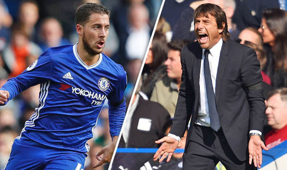Chelsea star Eden Hazard praises Antonio Conte for this change in the system