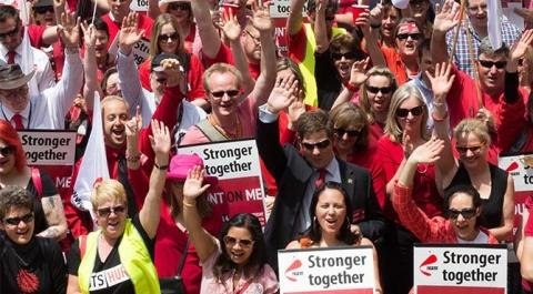 Human Services staff launch rolling strikes