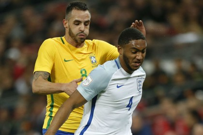 Joe Gomez impresses as England draw with Brazil at Wembley
