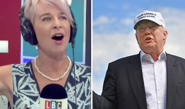 'He will make America GREAT!' Katie Hopkins celebrates 'proud' moment Trump won presidency
