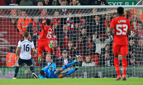 Liverpool 2 - Tottenham 1: Daniel Sturridge class just enough to see Reds through