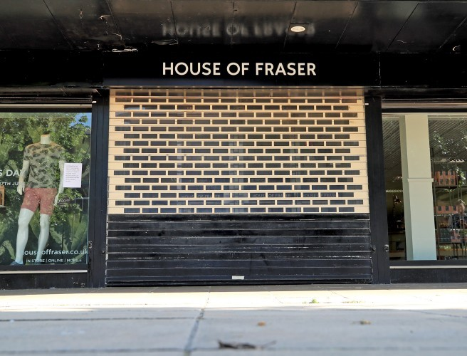Fears for House of Fraser jobs as British retailer appoints administrators