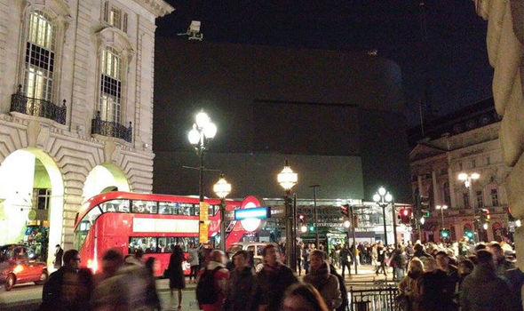 BREAKING: Soho and Piccadilly plunged into darkness due to London power cut