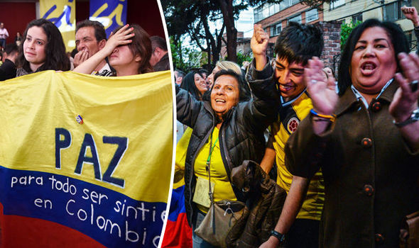 Colombia REJECTS historic peace deal with communist rebels to end 52-year conflict