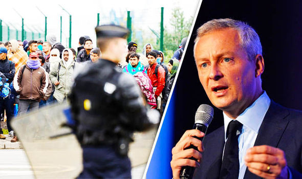 Britain MUST take Calais migrants French president candidate tells cheering crowds
