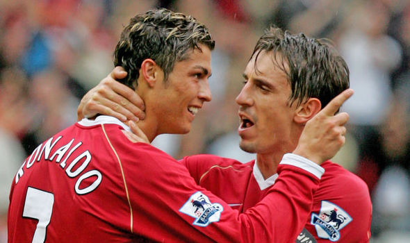 Gary Neville: This is how Manchester United made Cristiano Ronaldo