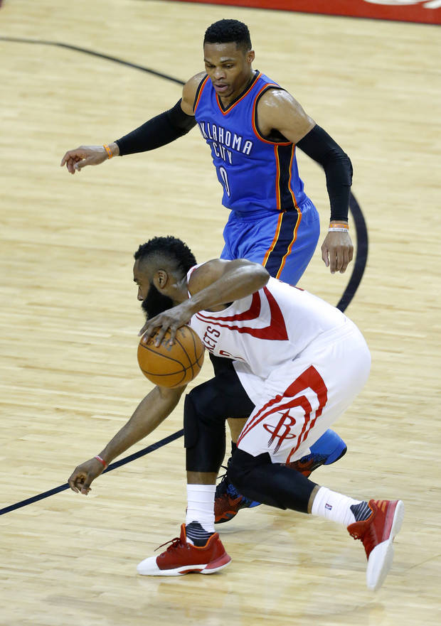 Thunder journal: Westbrook named finalist for NBA MVP