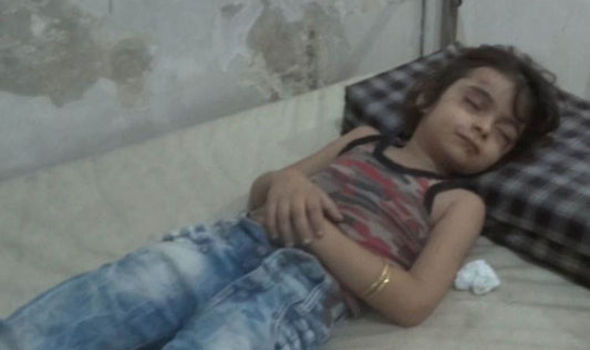 Five-year-old girl pulled alive from rubble after Syria airstrike kills entire family