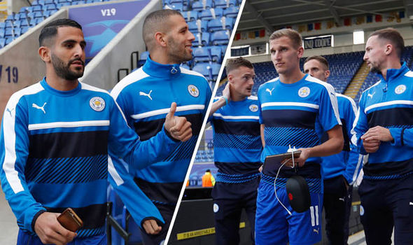 Picture Special: Leicester arrive at King Power ahead of FC Porto Champions League clash