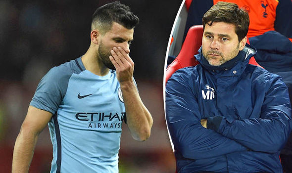 Sergio Aguero to Tottenham: Manager responds to rumours amid reports Arsenal are keen