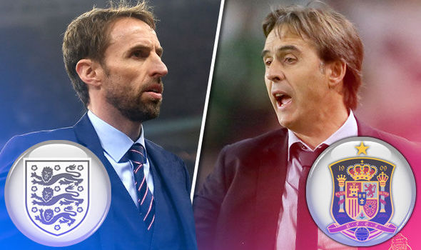 England v Spain LIVE: Follow all the build up to the big Wembley friendly
