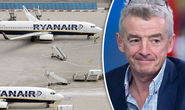 Budget airline Ryanair cuts its profits prediction by 5 per cent after pound falls