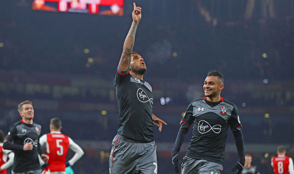 Arsenal 0 - Southampton 2: Clasie and Bertrand send Gunners crashing out of EFL Cup