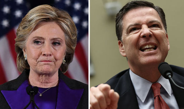 'I BLAME COMEY' Bitter Clinton blames FBI chief for humiliating election defeat