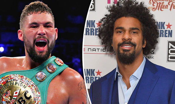David Haye to fight Tony Bellew at heavyweight in London in March