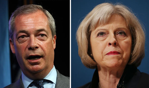 Nigel Farage hints he will 'REJOIN the Tories' to boost Britain's relationship with Trump