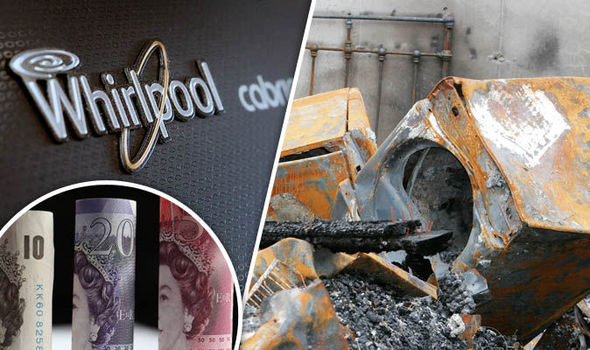 London white goods fires have cost economy HUGE £118 MILLION since 2011